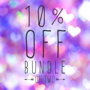 Bundle and save 10%